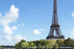 Eiffel Tower river view